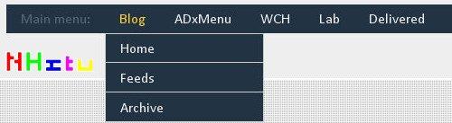 CSS-导航-实例